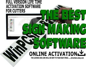 Unlimited Winpcsign Basic 2012 Software For Vinyl Cutter Plotter 500 Drivers