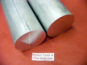 2 Pieces 1 1 2 Aluminum 6061 Round Rod 24 Long Solid Extruded Lathe Bar Stock