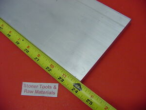 1 4 X 6 Aluminum 6061 T6511 Solid Flat Bar 24 Long Extruded Plate Mill Stock