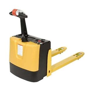 Electric Power Pallet Truck 3000 Lb Capacity Self Propelled 12 Volt 95ah