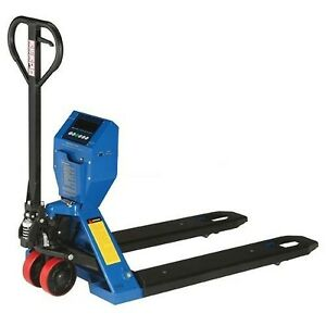 Low Profile Pallet Jack Scale Truck 5000 Lbs Capacity Steel Industrial