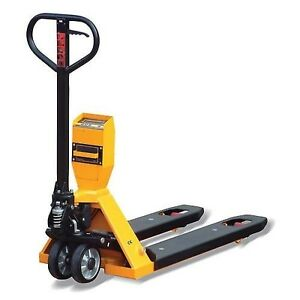Pallet Scale Jack Truck 5000 Lbs Capacity Ntep Approved Electric Display
