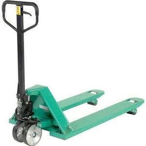 Pallet Jack 27 X 48 5500 Lbs Capacity Pallet Truck Commercial Industrial