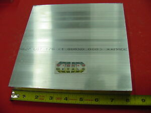 1 X 8 X 8 Aluminum 6061 Solid Flat Bar T6511 New Mill Stock Plate 1 00 x 8 00
