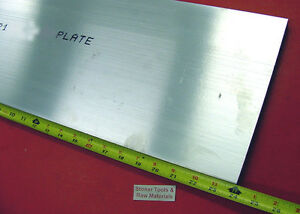 3 4 X 10 Aluminum 6061 Flat Bar 24 Long T6511 75 Solid Plate Mill Stock