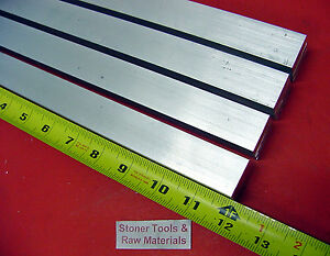 4 Pieces 3 4 X 1 Aluminum 6061 Flat Bar 12 Long Solid New Mill Stock 75 x 1