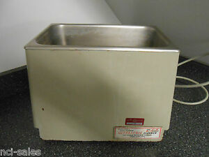 Cole Parmer 8845 4 Ultrasonic Cleaner 117v ac 60hz 125 Watts