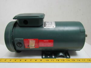 Reliance Electric 1 Hp 1750rpm 180v 56 Frame Tefc Power Matched Dc Motor