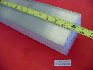 2 X 3 Aluminum 6061 Flat Bar 24 Long T6511 2 0 x 3 0 Solid Plate Mill Stock