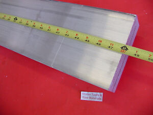 1 1 2 X 4 Aluminum 6061 Flat Bar 48 Long T6511 1 500 Solid Plate Mill Stock