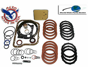 Dodge A727 Transmission Rebuild Kit High Performance Kit Stage 2 Red Kolene Tf8