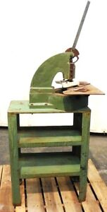 Di acro Houdaille Tab Notcher No 2 With Stand Capacity 16 Gauge Mild Steel