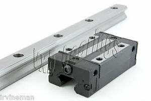 15mm Wide Rail 30 inch Long Guideway System Square Slide Unit Cnc Linear Motion