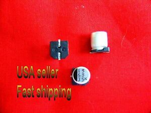 50 Pcs 68uf 35v Smd Electrolytic Capacitors Free Shipping