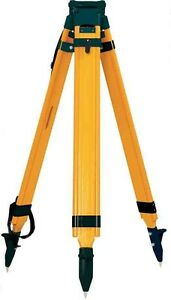 Sokkia Wood Fiberglass Tripod 724282 For Rotary Lasers Total Station Or Gps