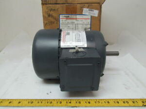 Ao Smith H869 Tefc Electric Motor 3 4 Hp 3ph 1725rpm 200 230 480 Vac Ba56 Frame