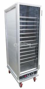 New Adcraft Heater Proofer Set 36 Pan Mobile Cabinet pw 120