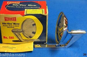 Vintage Nos Yankee Mirror 561 Bel Air Star Chief Mercury Galaxie Impala Olds