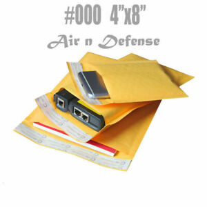 10000 000 4x8 Kraft Bubble Padded Envelopes Mailers Shipping Bags Airndefense