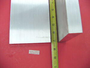 2 Pieces 1 X 5 Aluminum 6061 Flat Bar 7 Long Solid New 1 00 Plate Mill Stock
