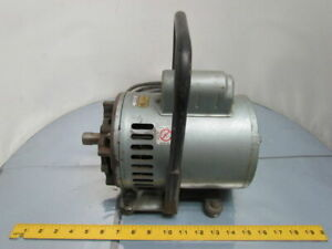 Doerr Electric Lr39793 1 2hp 1ph 115 208 230 J56z Vacuum Pump Motor 7 8 Shaft