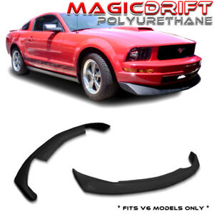 05 09 07 08 Ford Mustang Base Front Bumper Spoiler Cv B2 Style Chin Lip Urethane