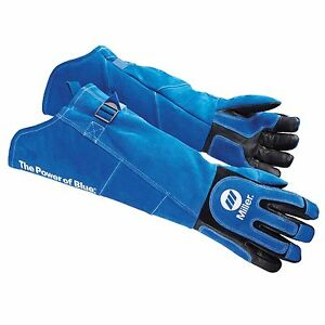 Miller Heavy duty Mig stick Long Cuff Welding Gloves X large 263342