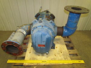 Gardner Denver 7009 vt Positive Displacement Blower Vacuum Pump 6 Npt Ports
