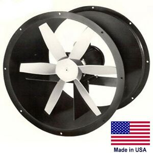 12 Explosion Proof Exhaust Fan 1 Ph 3 4 Hp 3450 Rpm 2044 Cfm 115 230 6 Bla