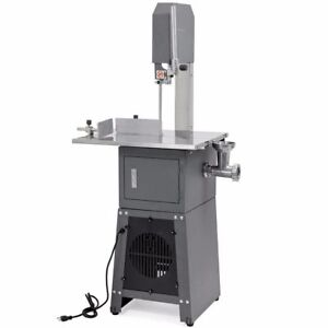 Professional Meat Cutting Band Saw With Built in Grinder 3 4 Hp Motor Meatsaw