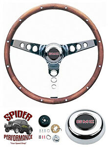 1948 1959 Gmc Pickup Steering Wheel 13 1 2 Classic Walnut