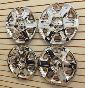 2008 2013 Chrome Grand Caravan Town Country Hubcap Wheelcovers Set Of 4