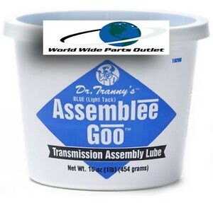 Transmission Assembly Lube Blue Goo Lubegard Dr Tranny Assembly Grease Blue
