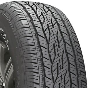 2 New P235 70 16 Continental Cross Contact Lx20 70r R16 Tires