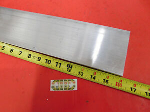 1 2 X 4 Aluminum 6061 Flat Bar 16 Long T6511 Solid Extruded Plate Mill Stock
