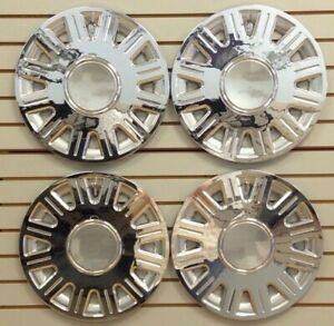 New 2003 2008 Crown Vic Grand Marquis Wheelcover Hubcap Set Of 4