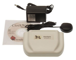 Clockwatch Star Sync External Gps Atomic Time Receiver W antenna Beagle Software