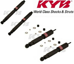 Kyb Rear Front Shock Absorbers Suspension Kit For Nissan Pickup 95 97 2 4l Rwd