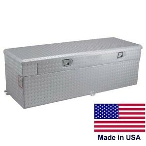 Commercial 91 Gallon Auxiliary Tank Toolbox 55 X 30 X 19 For 8 Ft Beds