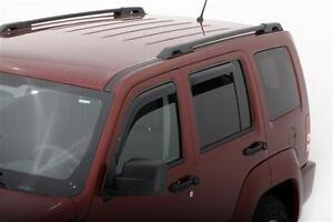 For Jeep Liberty 194964 In Channel Window Vent Visors Shades Trim 2008 2014