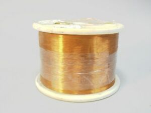 Sigmund Cohn Wire 36 Awg Enameled Copper 8 Lbs Magnetic Coil Winding 3 800 Ft