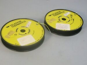 Teledyne Thermatics Yellow 28 Awg Electrical Wire 600 Feet New
