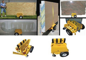 Sawtrax Panel Express Substrate Drywall Sheetrock Plywood Cart Dolly All terrain