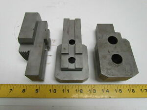 U15357990 Hard Top Jaws 3 Pc Set Lathe Chuck