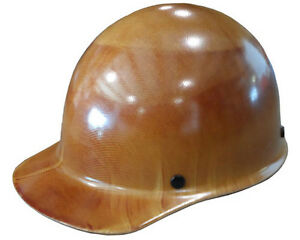 New Msa Skullguard Cap Style Hard Hat Tan Skullgard With Staz On Suspension