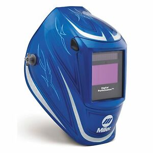 Miller 64 Custom Digital Performance Auto Darkening Welding Helmet 282002