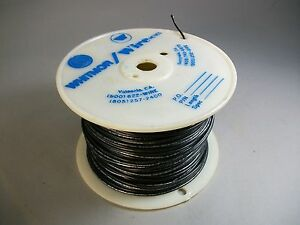 Whitmor Wirenetics Tinned Copper Electrical Wire 20 Awg Black Color 450 Feet