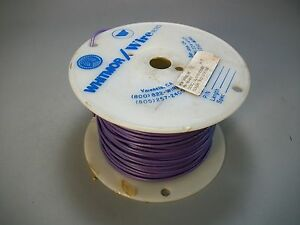Whitmor Wirenetics Tinned Copper Electrical Wire 18 Awg Purple Color 400 Feet