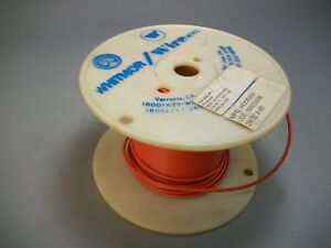 Whitmor Wirenetics Tinned Copper Electrical Wire 18 Awg Orange Color 300 Feet