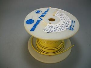 Whitmor Wirenetics Tinned Copper Electrical Wire 16 Awg Yellow Color 200 Feet